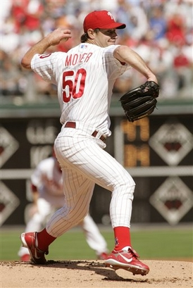 Jamie Moyer (10-8, 5.55 ERA)
