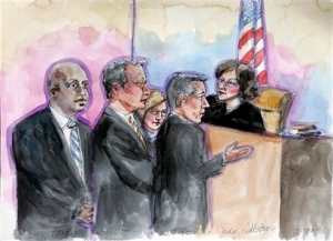 Bonds in court