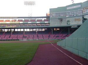 view from left-field corner